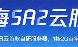腾讯云星星海SA2云服务器自研性能评测及99元优惠价格表