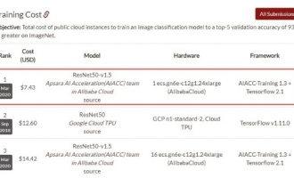 含光800云服务器世界级AI计算性能全球第一AI推理能效比