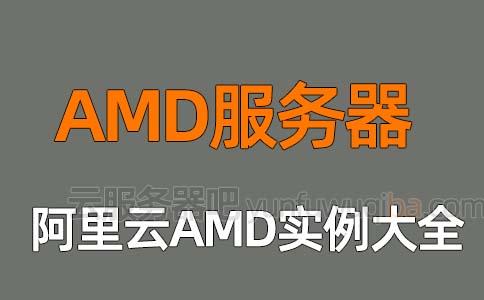 阿里云AMD服务器