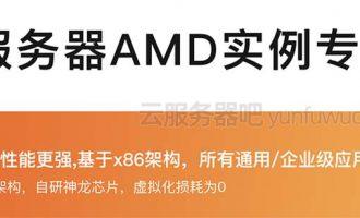 阿里云AMD服务器ECS计算型c6a、通用型g6a和内存型r6a性能参数详解